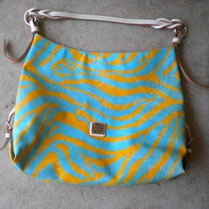 Dooney & Bourke Rare Zebra X-Large Handbag